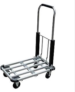 AINIYF Heavy Duty Folding Trolley, Hand Truck, Sack Truck, Max Capacity 150 KG Shopping Trolleys
