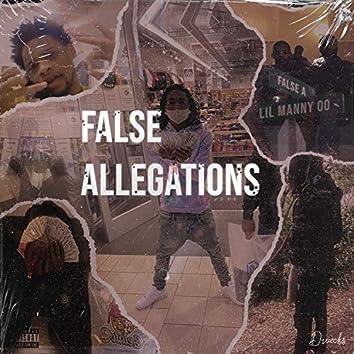 False Allegations