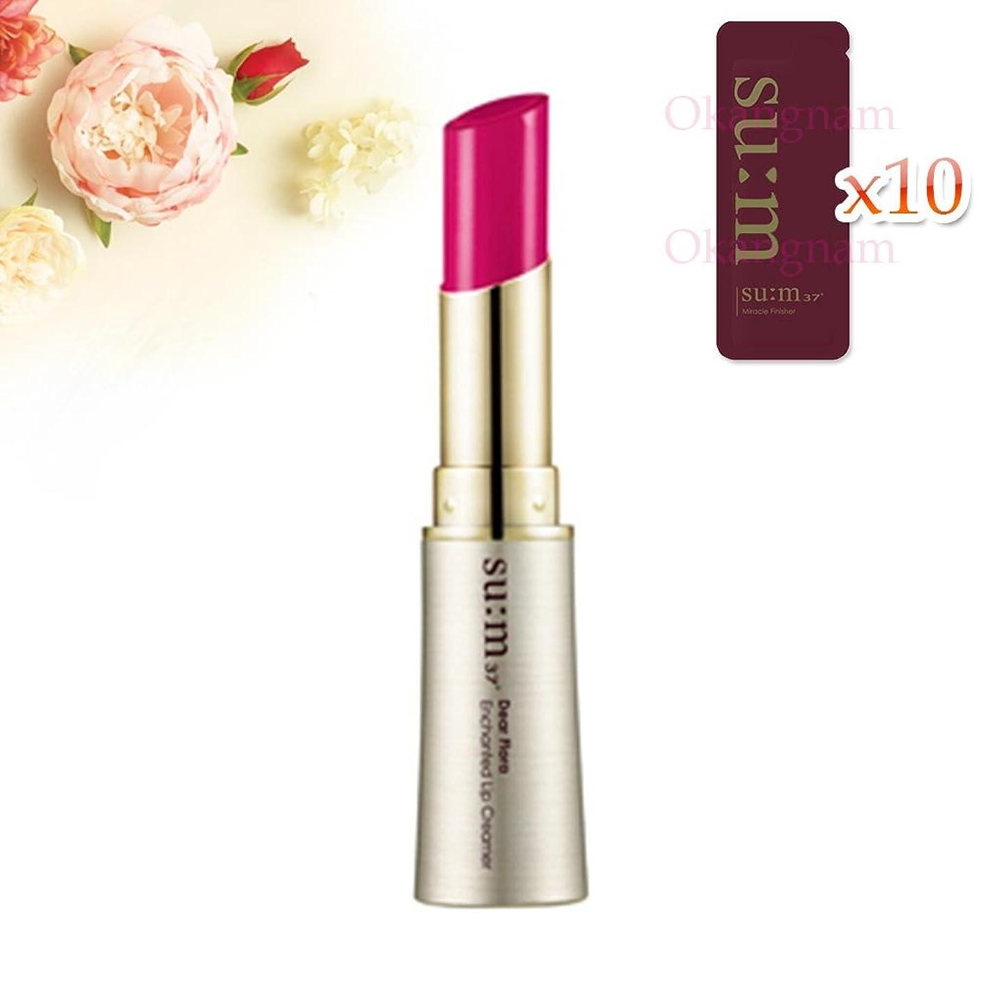 火炎間鰐[su:m37/スム37°] SUM37 Dear Flora Enchanted Lip Creamer 06 Ranun Deep Pink/DF06 sum37 スム37 ディアフローラ エンチャンテッド リップクリーマー 6号 Ranun Deep Pink +[Sample Gift](海外直送品)