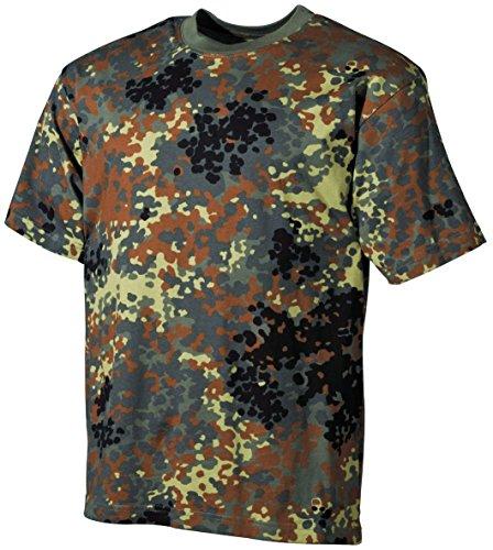 MFH US Army Herren Tarn T-Shirt (Flecktarn/S)