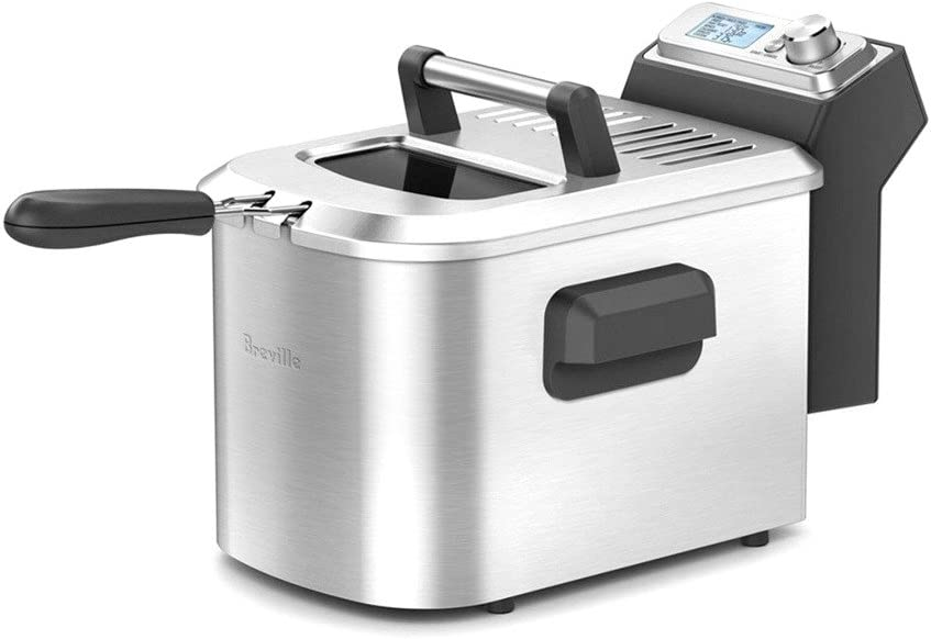 Breville Limited Special Price BDF500XL Smart Fryer Steel Brushed Year-end gift Stainless