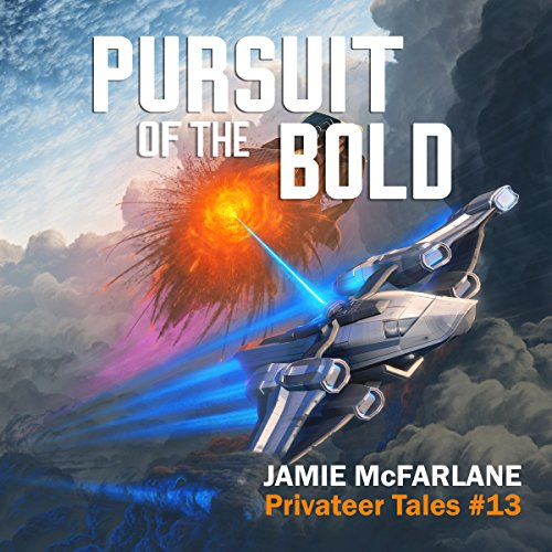 Pursuit of the Bold audiobook cover art