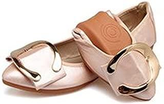 Autumn Shoes for Women Flat Shoes Fashion Foldable Ballet Flats Soft Casual Pregnant Ladies Shoes