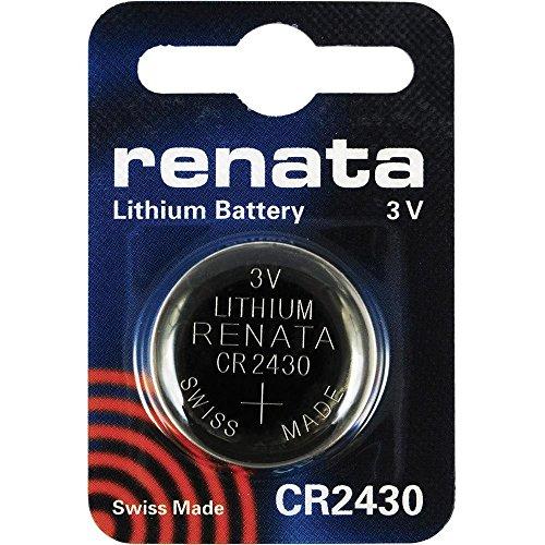 CR2430 Knopfzellenbatterie / Lithium 3V / für Uhren, Taschenlampen, Autoschlüssel , Taschenrechner , Kameras, etc / iCHOOSE