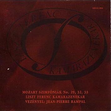 Mozart: Symphonies No. 29, 32, 33