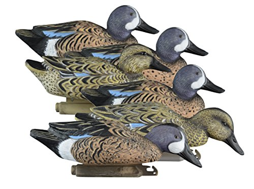 Higdon Outdoors Standard Blue Wing Teal Duck Decoys, Foam Filled