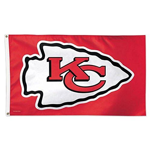 NFL Kansas City Chiefs Deluxe Flag, 3