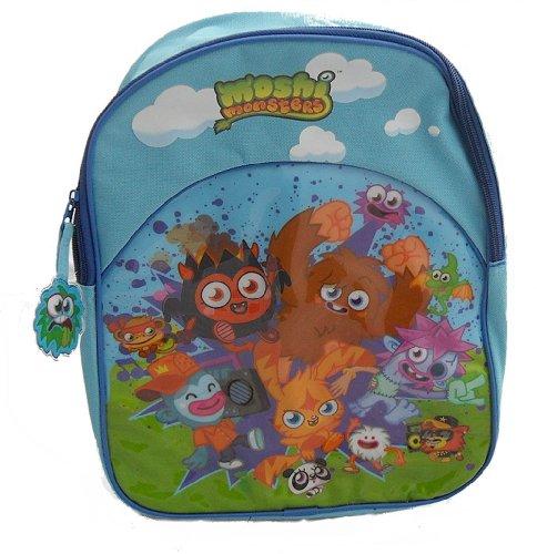 Sac à dos bleu Moshi Monsters enfants