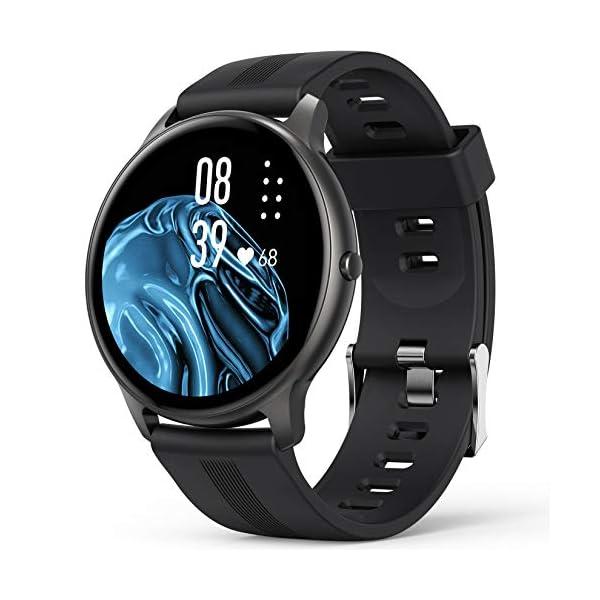 Smart Watch, AGPTEK IP68 Waterproof Smartwatch for Men Women Activity Tracker with...