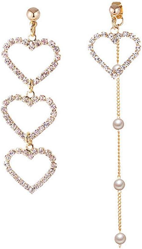 New Women Silver Turquoise Handmade Hook Asymmetry Dangle Earrings Jewelry Gift