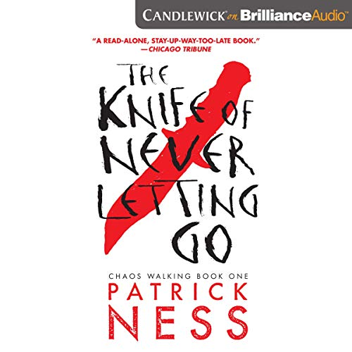 The Knife of Never Letting Go audiobook cover art