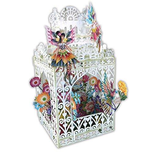 Flower Fairies 3D Pop-Up Card by Paper D'Art (Main)