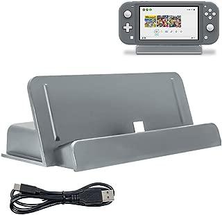 Nintendo switch Lite 充電器 卓上ホルダー ニンテンドー スイッチ LITE 充電スタンド クレードル充電器 急速充電 充電 Dodotop (グレー)