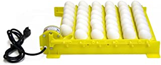 GQF HovaBator Automatic Egg Turner with 6 Universal Egg Racks - 1611 - Fits Chicken, Partridge, Duck, and More