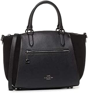 Coach Womens Elise 29 Satchels, Black (Gm/Black) - 79971