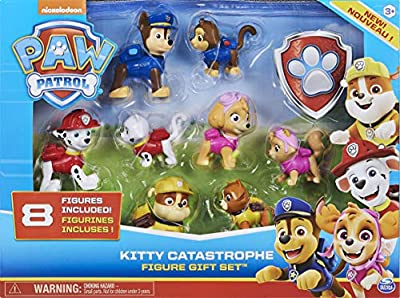 PAW Patrol 6058524 - Kitty Catastrophe Gift Set with 8 Collectible Figures, for Kids Aged 3 and Up by Spin Master
