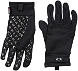 Oakley Men's Diamondback Fleece Glove, Jet Black, XL