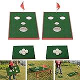SPRAWL Chipping Game Golf Cornhole Set Beach Golf Backyard Game - Chipping Game Training with Family, Friends