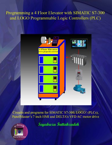 Programming a 4 Floor Elevator with SIMATIC S7-300 and LOGO Programmable Logic Controllers (PLC) (English Edition)