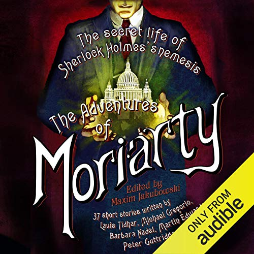 The Mammoth Book of the Adventures of Moriarty cover art