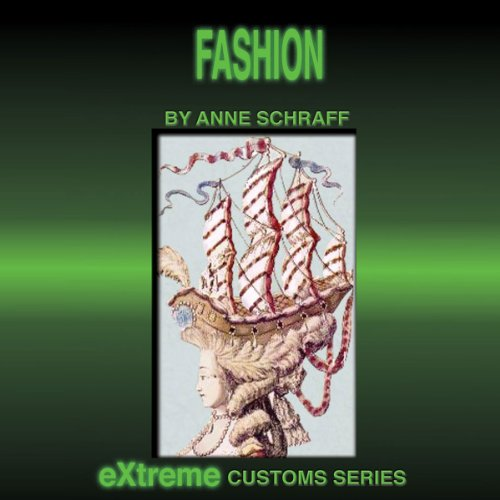 Fashion audiobook cover art