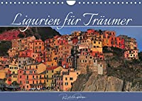 Ligurien fuer Traeumer (Wandkalender 2022 DIN A4 quer): Malerische Doerfer Liguriens zwischen Bergen und Meer (Monatskalender, 14 Seiten )