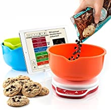 Perfect Bake 2.0 Smart Scale and Recipe App Kitchen Tool, Wireless (Bluetooth 4.0)