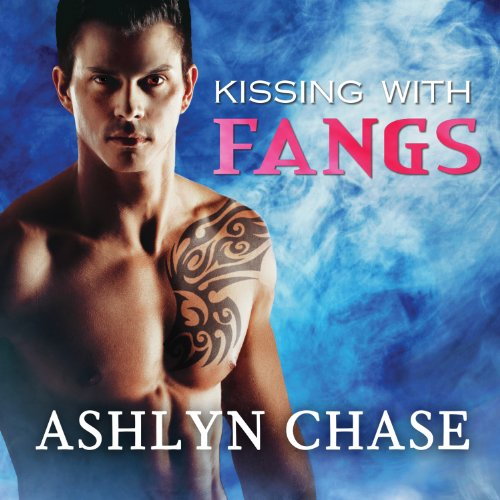Kissing with Fangs audiobook cover art