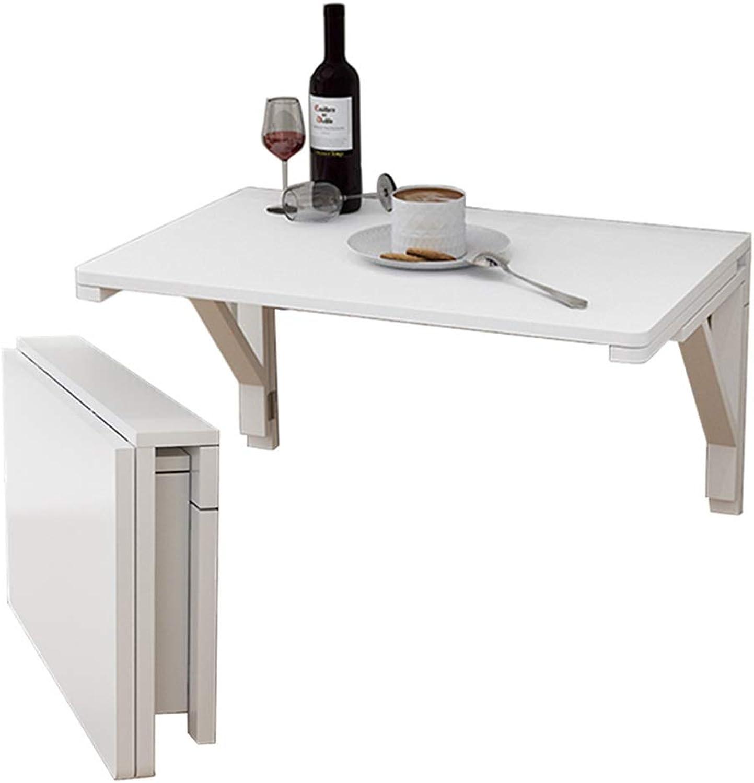 los últimos modelos LXLA- Mesa Plegable Plegable Plegable Plegable de Parojo, Mesa de Parojo de Madera para Estudio de Cocina en la Oficina - blancoo (Talla   120cm×30cm(47.24 ×11.81 ))  moda clasica