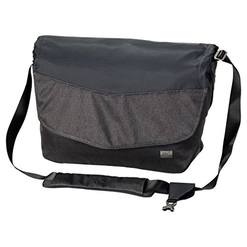 Jack Wolfskin Wool Tech Messenger, 18 Liter, Phantom