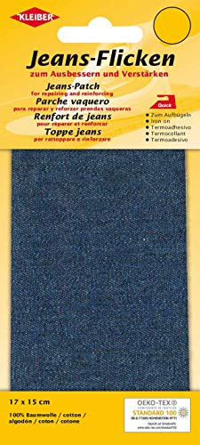 Kleiber  Denim Jeans Reparatur-Flicken, 17 x 15 cm, dunkelblau