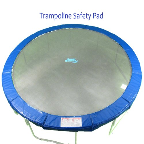 Super Trampoline Replacement Safety Pad (Spring Cover) Fits for 13 FT. Round Trampoline Frames. 10' wide - Blue