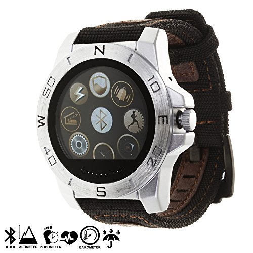 Silica DMR237SILVER – Smartwatch outdoor gx-bw100, colore: argento