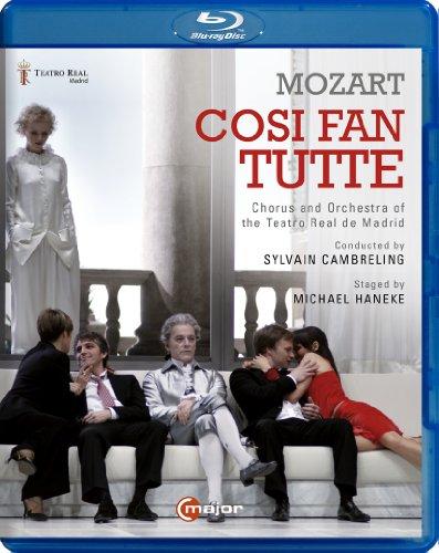Mozart: Cosi fan tutte (Madrid 2013) - Michael Haneke [Blu-ray] [Reino Unido]