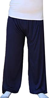 GladiolusA Men's Long Loose Wear Pants Soft Pyjama Bottoms Nightwear Trousers Yoga Pants