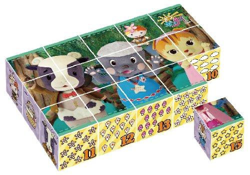 Cube puzzle Poco pop Tate 15 frames (japan import)