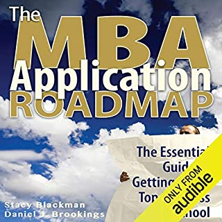 The MBA Application Roadmap audiobook cover art