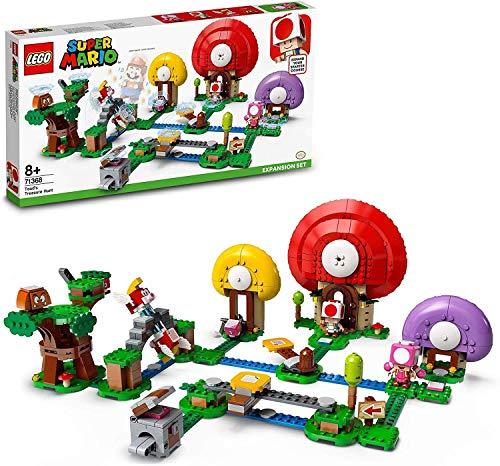 LEGO71368Super Mario Jeu de Construction - Ensemble d'extension La Chasse au trésor de Toad