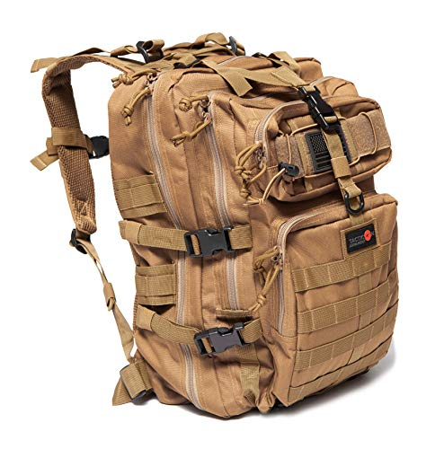 24BattlePack Tactical Backpack 1-3 Day Assault Pack | 40L Bug Out Bag (Tan)