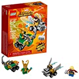 LEGO Marvel Super Heroes Mighty Micros: Thor vs. Loki 76091 Building Kit (79 Piece)