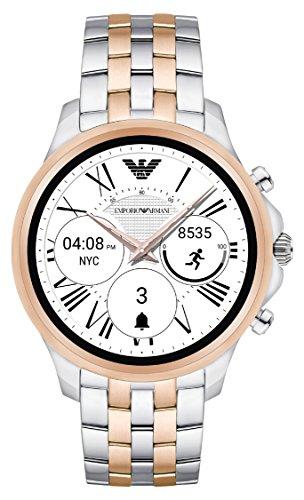 Emporio Armani Herren Digital Uhr mit Edelstahl Armband ART5001