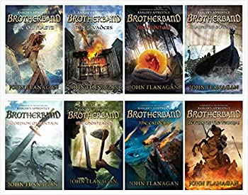 NEW SET! Brotherband Chronicles 8 Complete Books Set  8 Books