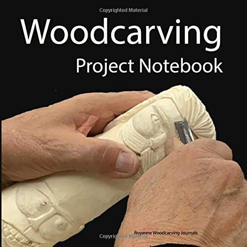 Woodcarving Project Notebook: Face Cover - A Journal for 15 Wood Carving Projects - Each Project has 7 Pages to Document Wood, Tools, Carving and Painting Techniques, Notes and Competition Entry