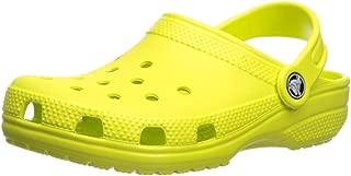Crocs Kids' Classic Clog, citrus, 3 M US Little Kid