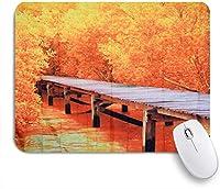ZOMOY マウスパッド 個性的 おしゃれ 柔軟 かわいい ゴム製裏面 ゲーミングマウスパッド PC ノートパソコン オフィス用 デスクマット 滑り止め 耐久性が良い おもしろいパターン (秋のかかしひまわり葉人形)