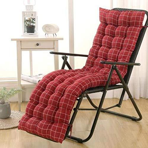 JGHF Cojín de color sólido suave y cómodo para silla de oficina, cojín de silla reclinable, cojín largo, varios tamaños disponibles (estilo 12 sin silla, 40 x 110 cm)