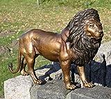 H. Packmor GmbH Statue de lion en bronze - Décoration réaliste