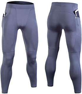 LUKEEXIN Men' Cool Dry Pants Compression Baselayer Leggings Sports Tights