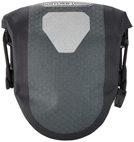 Ortlieb Unisex-Adult Micro Two Satteltasche, Schiefer-schwarz 0,5 l, One Size