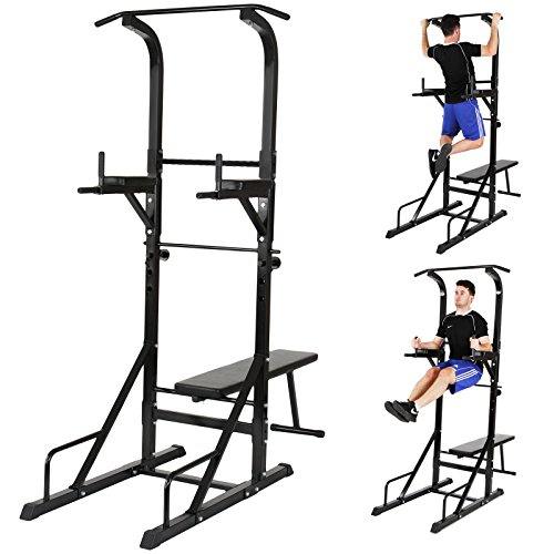 Physionics Multi Gym Dip Station Power Tower Weight Bench Strength...